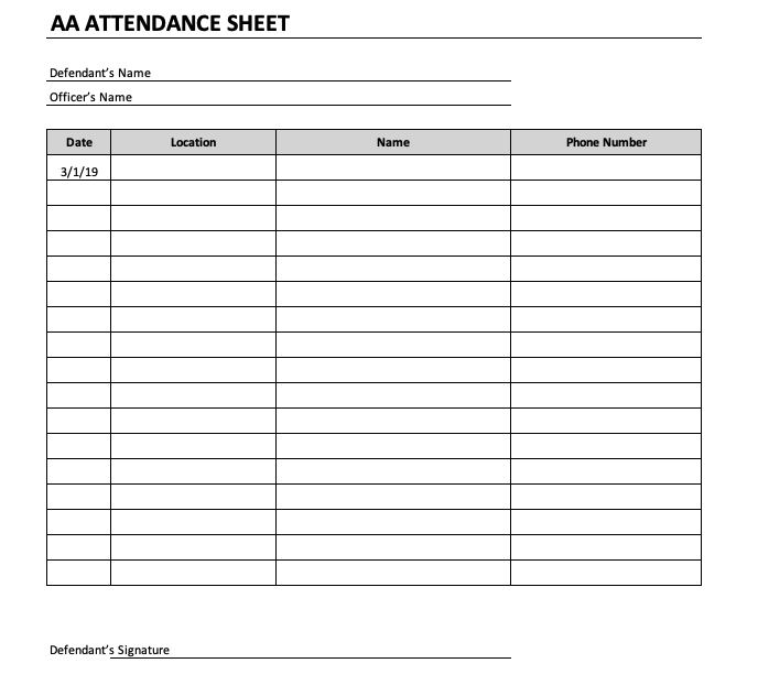 It is a graphic of Printable Sign in Sheet for Meeting in basic