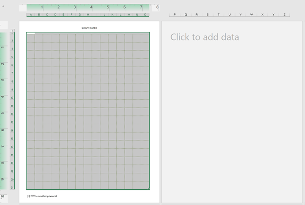Cartesian Grid Paper Template Empty
