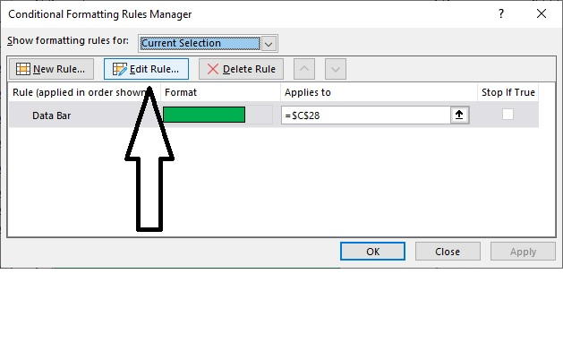 Daily Goal Planner Edit Rule