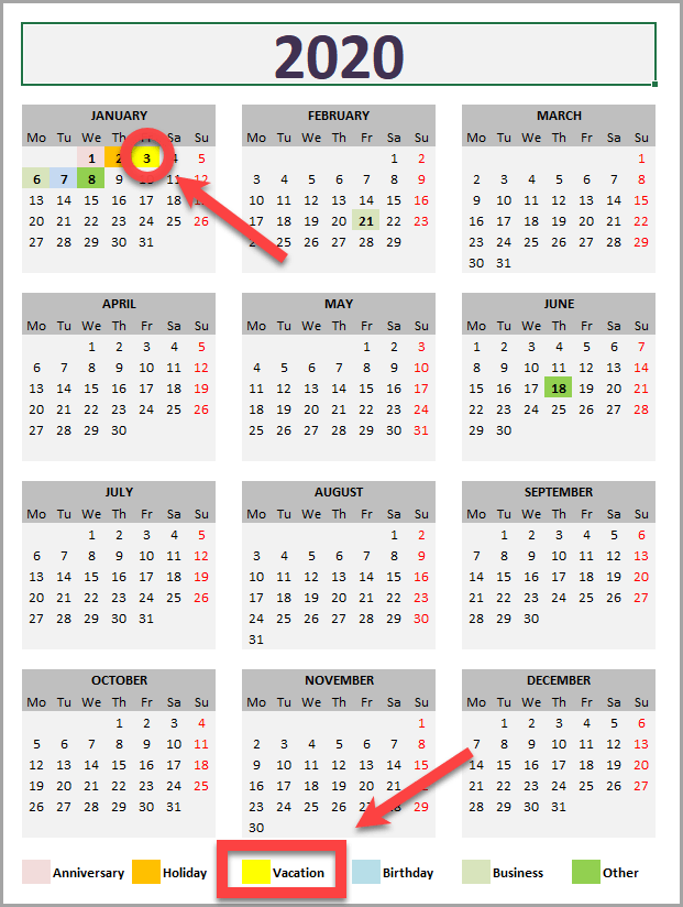 daily monthly yearly calendar template  u00bb exceltemplate net