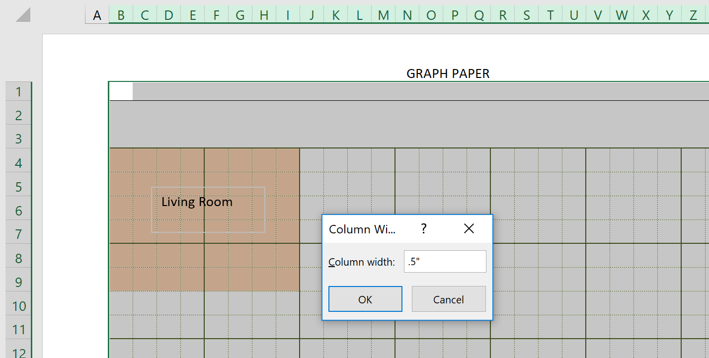 Engineering Graph Paper Template Width