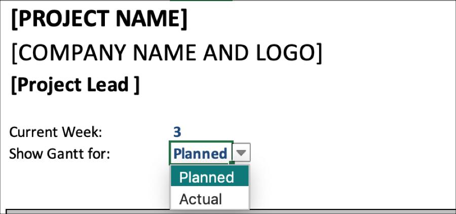 Gantt Schedule Planner Show Gantt