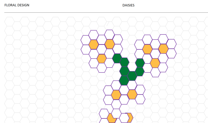 Hexagonal Graph Template Tessellations