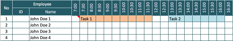 Hourly Schedule Model v3