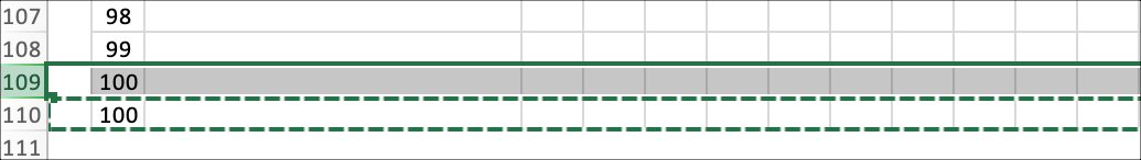 Project Schedule Adding Rows