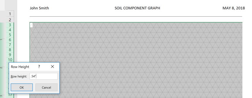 Triangular Graph Paper Template Height