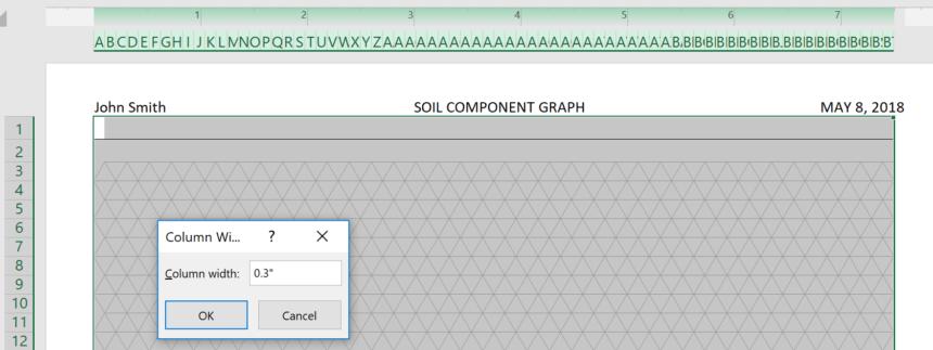 Triangular Graph Paper Template Width