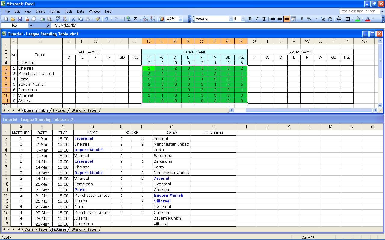 League Tutorial 14