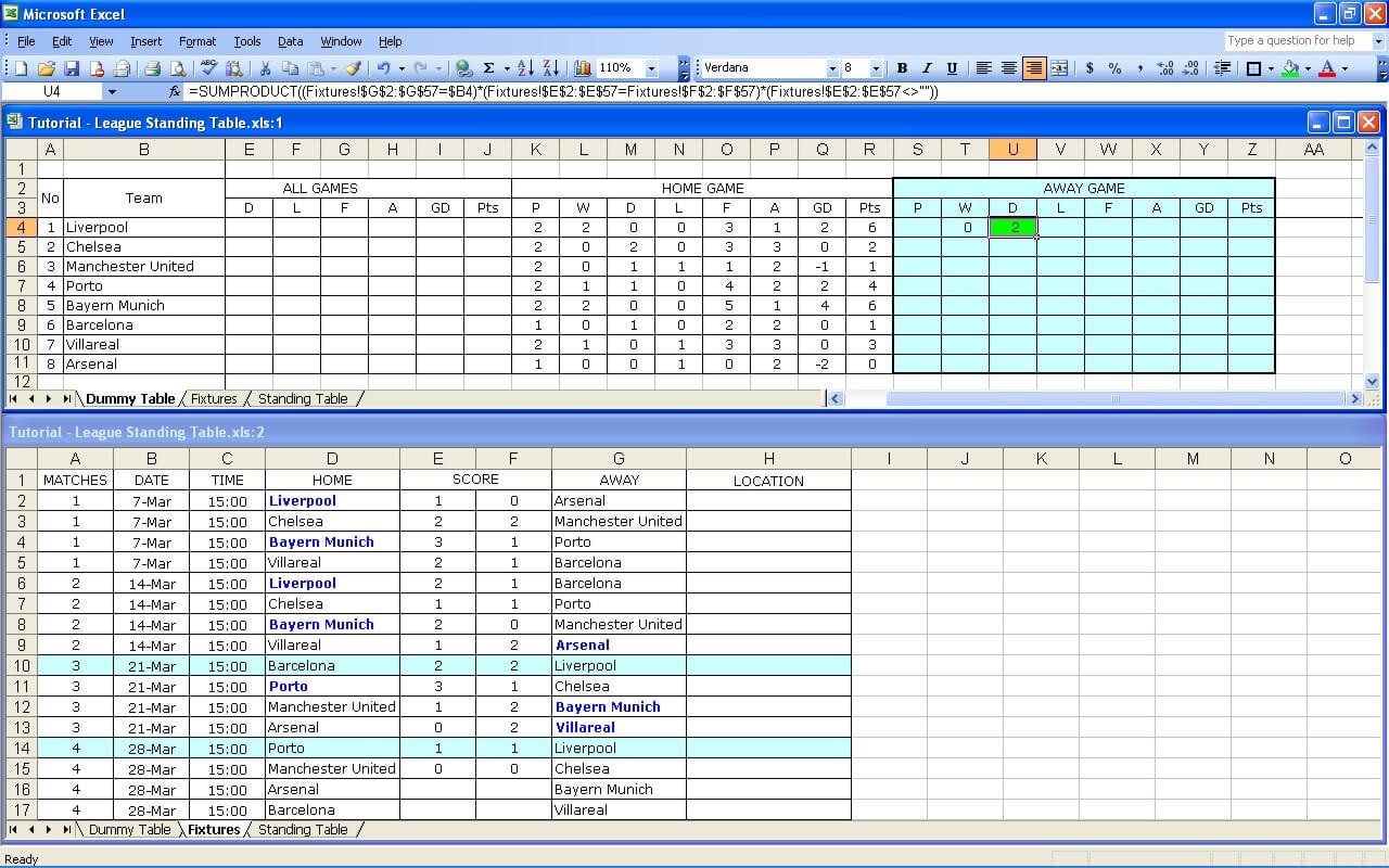League Tutorial 16