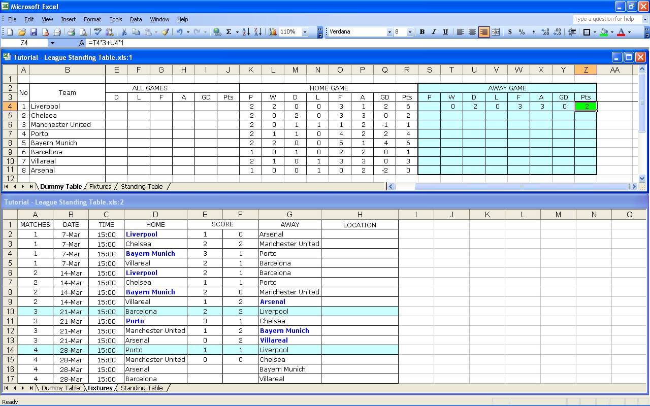 League Tutorial 21