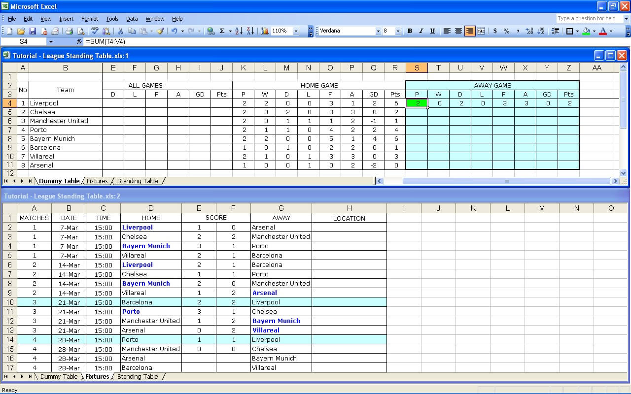 League Tutorial 22
