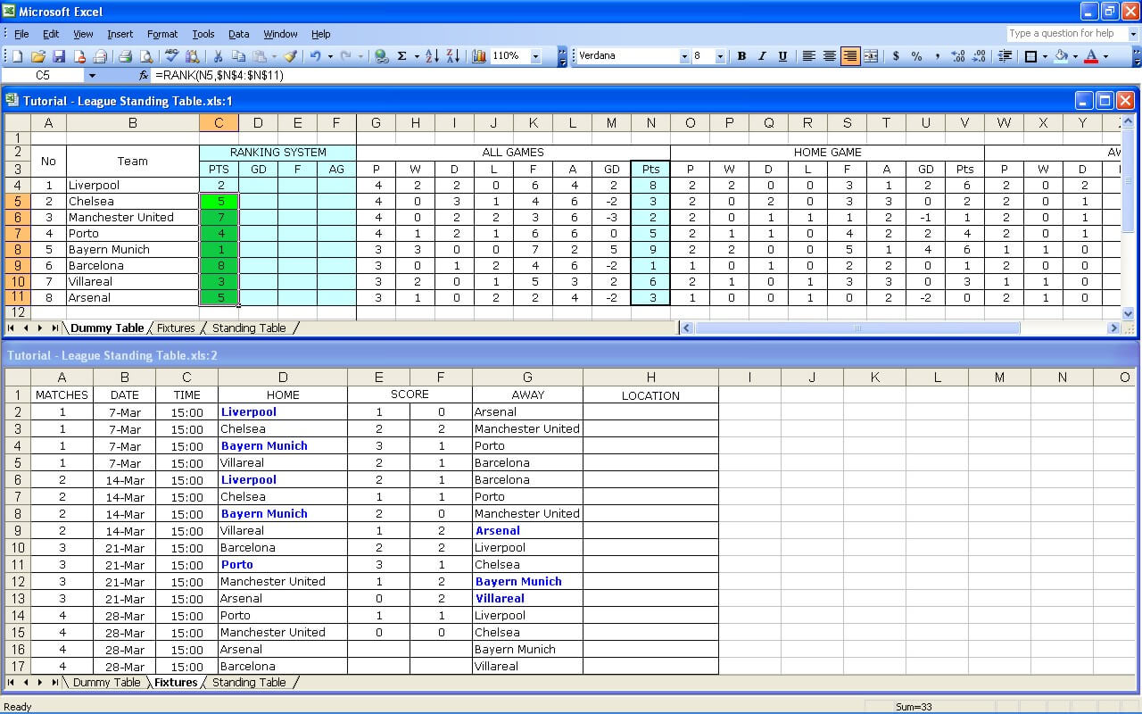 League Tutorial 27