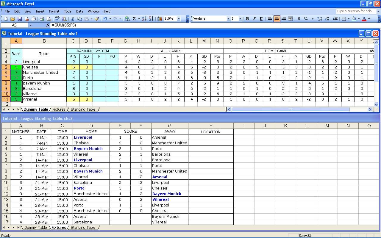 League Tutorial 31