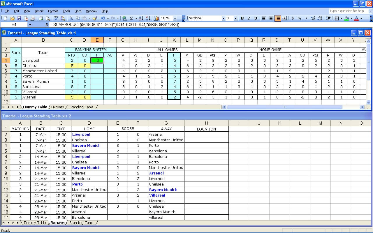 League Tutorial 32