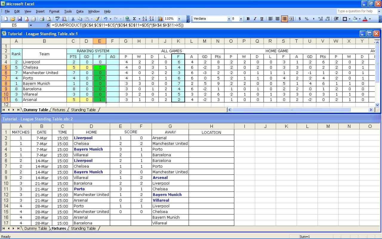 League Tutorial 33