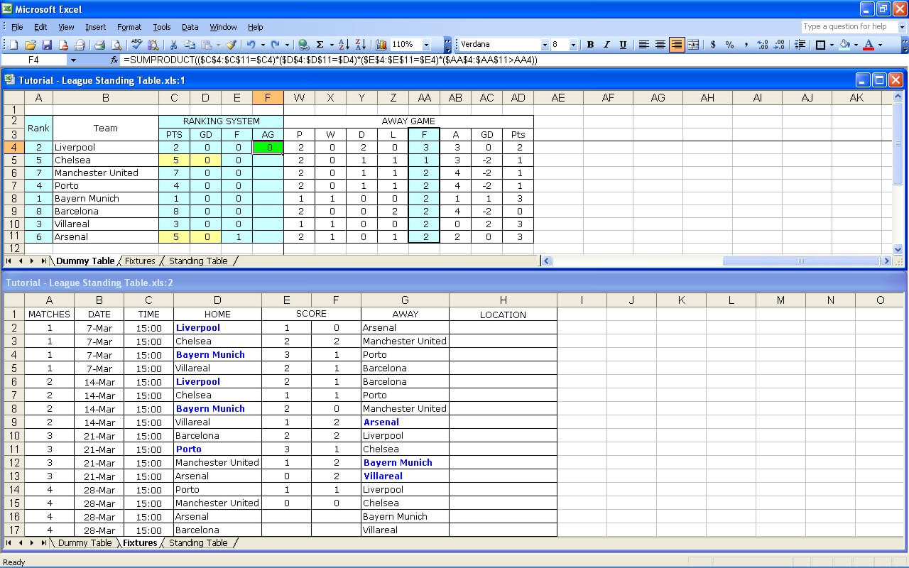 League Tutorial 34