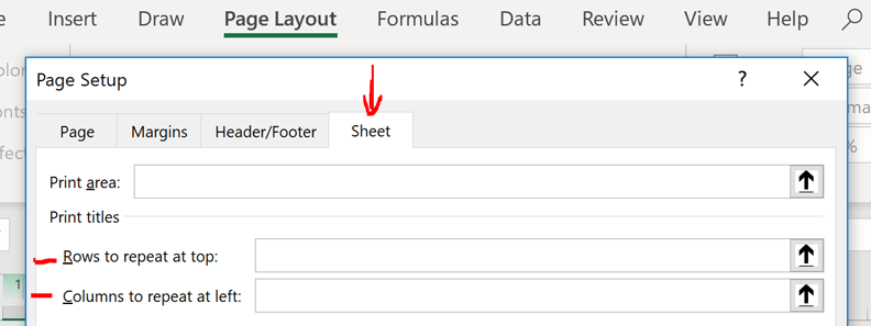 schedule disable repeating rows