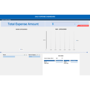 Daily Expense Sheet
