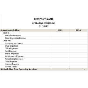 Operating Cash Flow Calculator