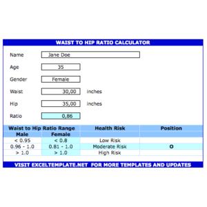 Body Fat Caliper Navy Calculator » ExcelTemplate net