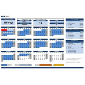 Employee Database Excel Template » ExcelTemplate net