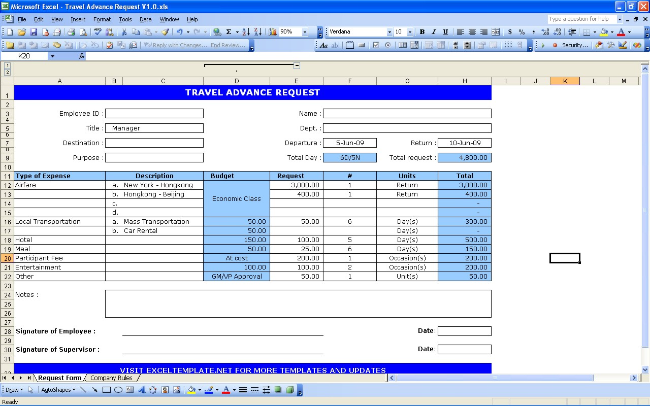 General ledger excel templates extra payment calculator travel request form alramifo Image collections