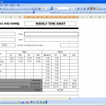 Time Sheets