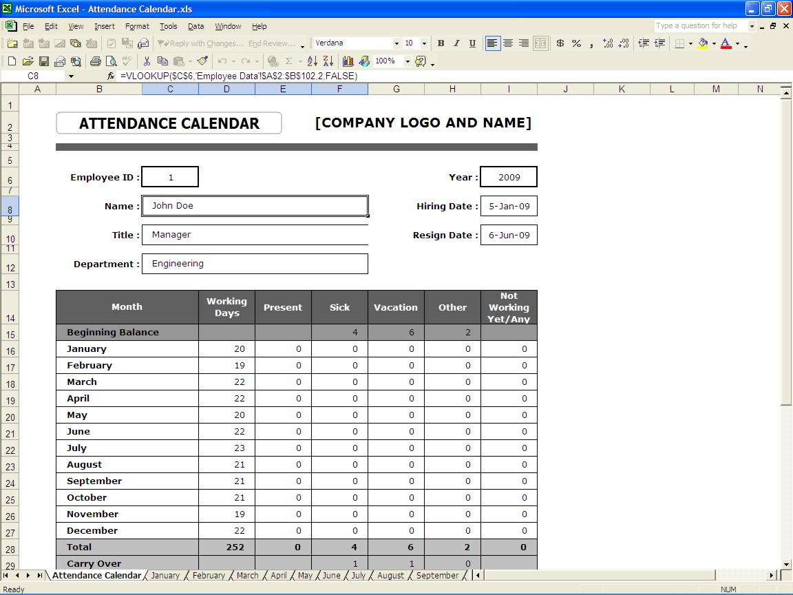 attendance tracking Archives – Sample Attendance Tracking