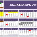 2013/2014 Academic Calendar