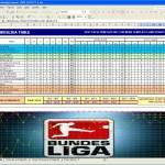 Bundesliga Fixtures 2009/2010