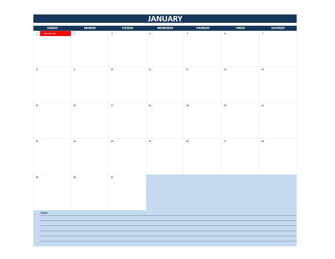 monthly calendars in excel