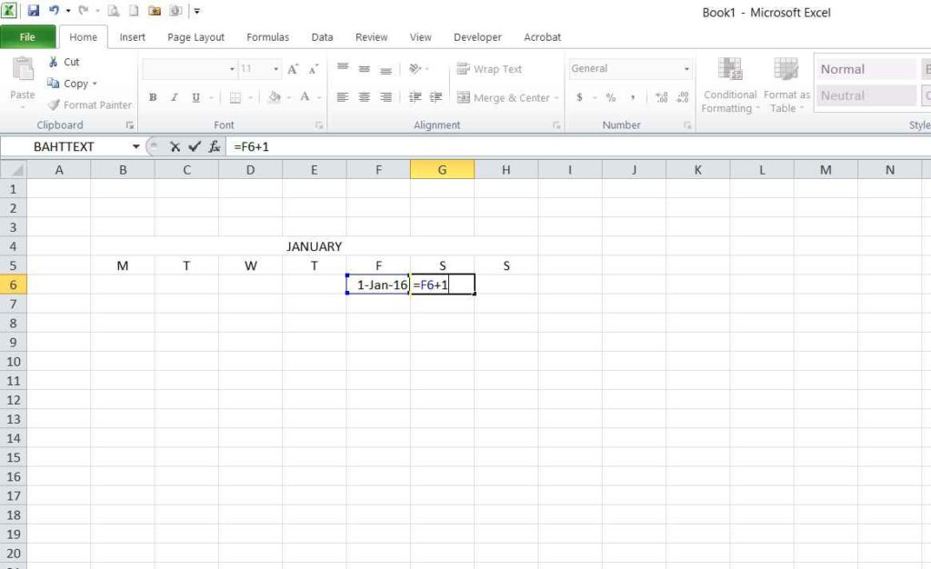 Picture 4 - Simple date addition formula