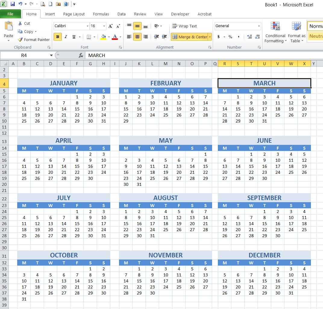 Year To Date Calendar : How to create year and school calendar with dynamic date